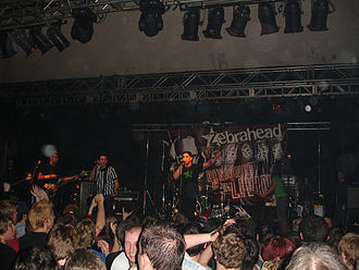 Zebrahead - Zebrahead performing in 2006