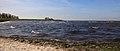 Zicht op IJsselmeer in de bocht van Molkwar (Molkwerum). Locatie, Friese IJsselmeerkust 001.JPG