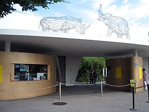 Fluntern - The Zurich Zoo entrance