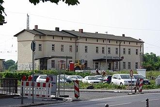 Zossen railway station - Zossen railway station