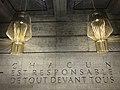 """""""Chacun est responsable de tout devant tous"""" (Dostoïevski) - musée de la croix rouge (Genève).JPG"""