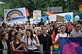 """""""Marsz Równości"""", Das Queer Mai Festival 2018, die Kultur der LGBTQI in Krakau, Marsch der Gleichheit am 19. Mai 2018.jpg"""