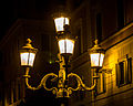 """ 13 - ITALY - Street light in Rome near Fontana di Trevi - urban design.jpg"