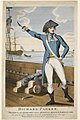 'Richard Parker President of the Delegates in the late Mutiny in his Majesty's Fleet at the Nore For which he sufferd Death on board the Sandwich the 30th of June 1797' RMG PY5441.jpg