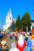 File:(01) APPLE SPAS CELEBRATION AT ST ASSUMPTION CATHEDRAL IN CITY OF BAR REGION OF VINNYTSIA STATE OF UKRAINE VIDEO BY VIKTOR O LEDENYOV 20180819.ogv