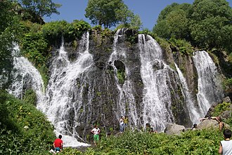 Shaki Waterfall - Image: «Շաքի» ջրվեժ (10)