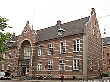 1e2753a9ecd8 Det gamle rådhus, som var politistation i årene 1941 - 1984, og som nu  huset Kvindemuseet.