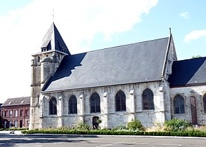 2016 Normandy church attack - St-Étienne church, where the attack took place