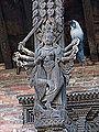 Étai sculpté (Bhaktapur) (8554519419).jpg