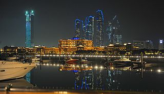 Capital of the United Arab Emirates