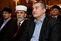 Аксёнов и Аблаев на съезде движения Къырым, 2014 (1).jpg