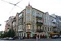 Будинок в якому у 1906–1911 рр. жив Ніколаєв В. М., Київ Ярославів Вал вул., 21.JPG