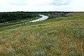 Вид с возвышенности на Урал в юго-западном направлении - panoramio.jpg