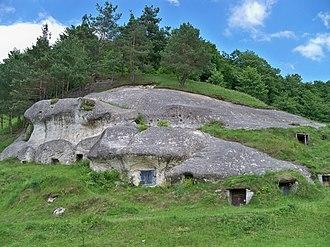 White Croats - Mound of the gord Stilsko.