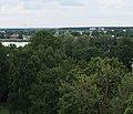 Екабпилс (Латвия) Вид с башни Крустспилского замка на Юго-Запад (фрагмент) - panoramio.jpg