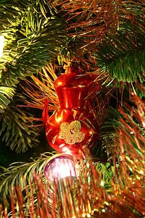 "Soviet Christmas Decoration ""Teapot"""
