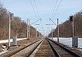Залізниця в Полтавській області. Перегін Вили — пост 172 км.jpg