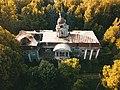 Западный Флигель Усадьбы Виноградово, Вид со двора.jpg