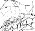 Карта к статье «Киузан». Военная энциклопедия Сытина (Санкт-Петербург, 1911-1915).jpg