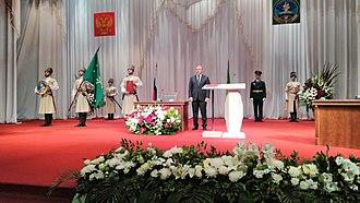 Head of the Republic of Adygea - 2017 Inauguration of Murat Kumpilov