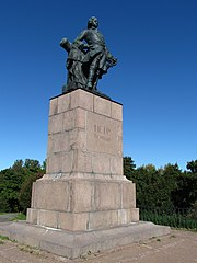 Monument to Peter I in Vyborg
