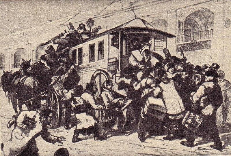 Файл:Первый петербургский омнибус 1832 г..JPG
