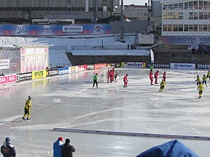 Kazakhstan national bandy team - Their semifinal at the World Championship 2016 in Ulyanovsk, Russia
