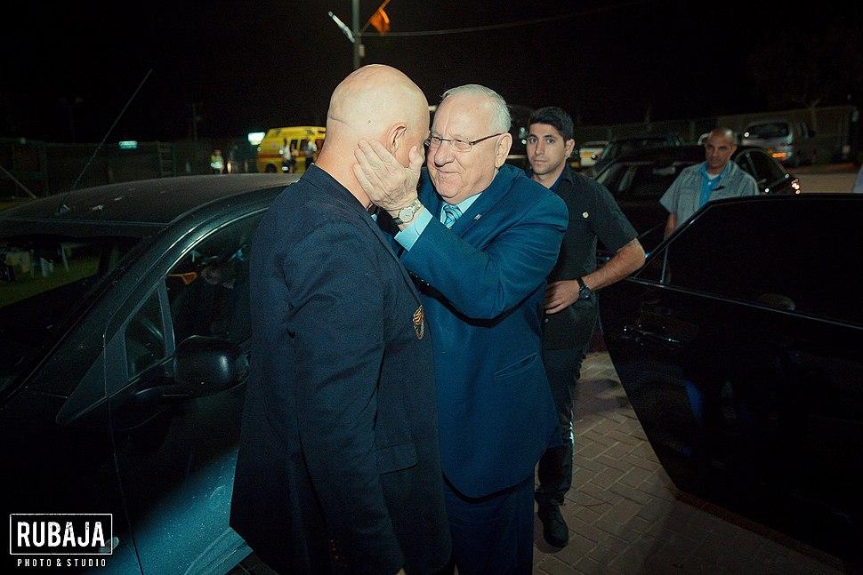 יאיר והנשיא ריבלין