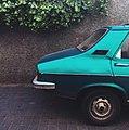 سيارة مركونة في مدينة الدار البيضاء.jpg