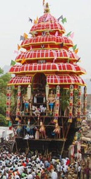 Srivilliputhur Andal temple - Andal temple car