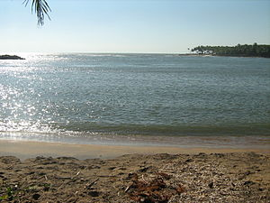 Chettuva Backwater - Estuary of Chettuva Backwater in Thrissur District