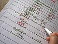 オリンピックのチケット抽選申し込み、家族会議始まりました!イラレで時間軸作って観たい競技書き出してみて、ようやく理解出来るように。予選狙いです。 (47788627922).jpg