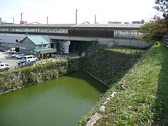 Mihara Castle - Image: 三原城石垣