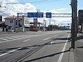 北海道道633号函館港線・国道227号交点-2(国道227号終点(北斗市)側から).jpg