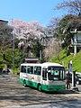 吉野山にて 中千本バス乗り場 Nakasembon bus stop 2010.3.30 - panoramio.jpg