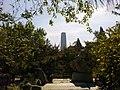 在日坛公园里树丛缝隙中看北京的标志性建筑-国贸三期大厦 - panoramio.jpg