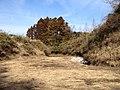 川廻しと沢を縁に寄せた形式での水田化 - panoramio.jpg