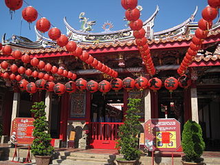 Yuanching Temple A temple in Changhua County