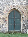 -2019-01-23 Doorway on the south facing elevation of Saint Mary's parish church, Kelling.JPG