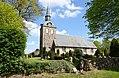 01 Kirche St. Martin, Steinbergkirche, Schleswig-Holstein; Blick von der Nordstraße.jpg