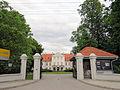020613 Gate to Łuszczewski Palace in Leszno - 01.jpg