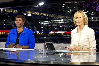 PBS NewsHour - Gwen Ifill and Judy Woodruff at the 2012 Republican National Convention