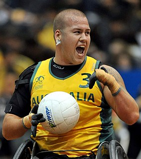 Ryley Batt Australian wheelchair rugby player