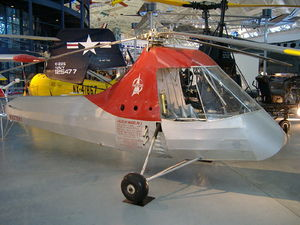 Piasecki Helicopter - PV-2 at the Steven F. Udvar-Hazy Center.