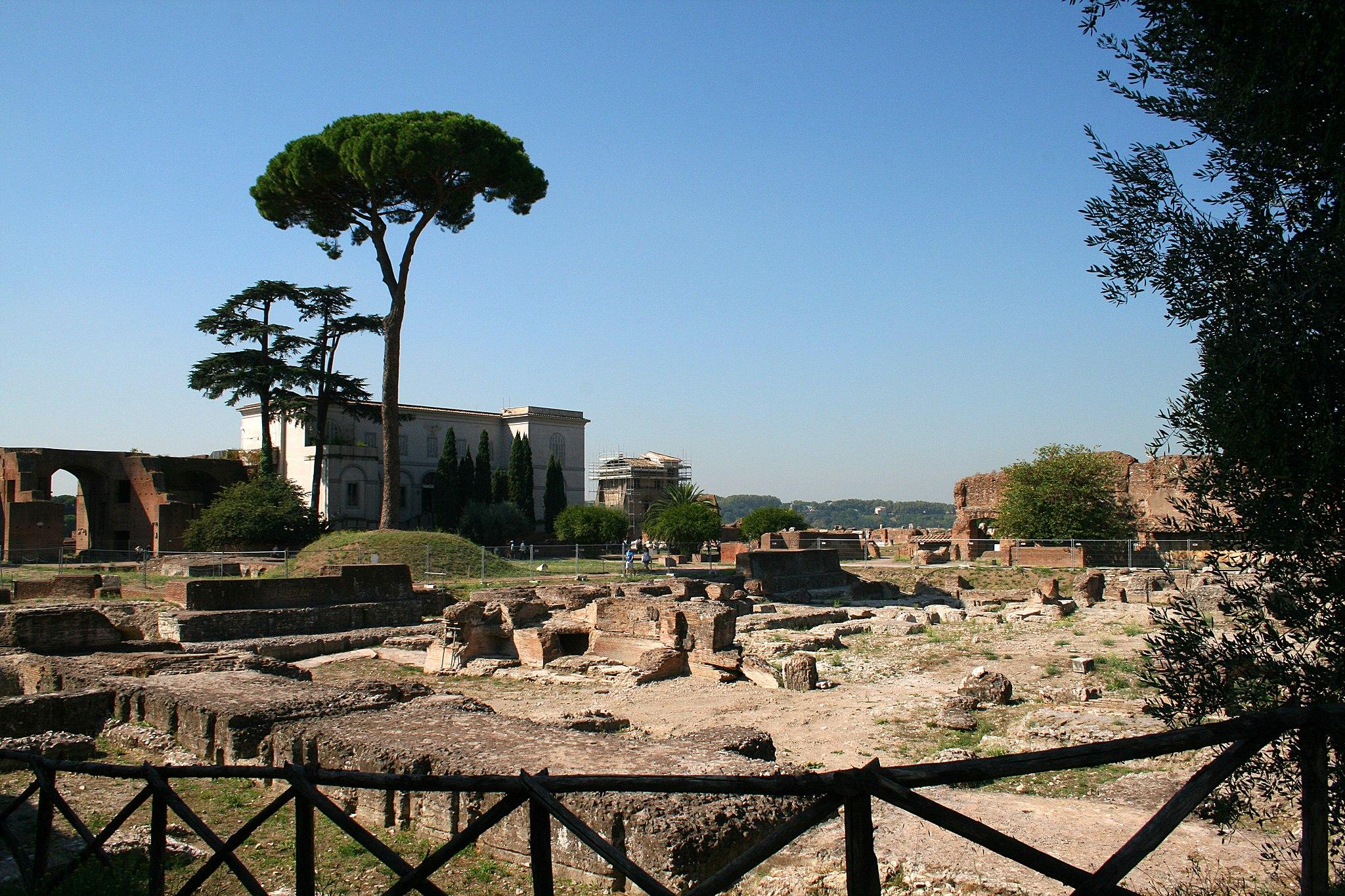 0 Domus Augustana - Museo Palatino - Rome