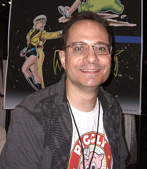 Andrew Pepoy - Pepoy at the New York Comic Con in Manhattan, October 9, 2010.