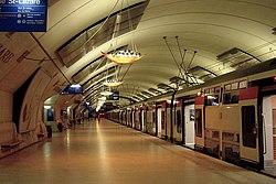 Bahnhof Haussmann - Saint-Lazare