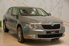 Škoda Superb II przed liftingiem