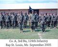 124th Infantry, 3rd Battalion, Company A, Tallahassee, 2005, mobilized for Hurricane.pdf