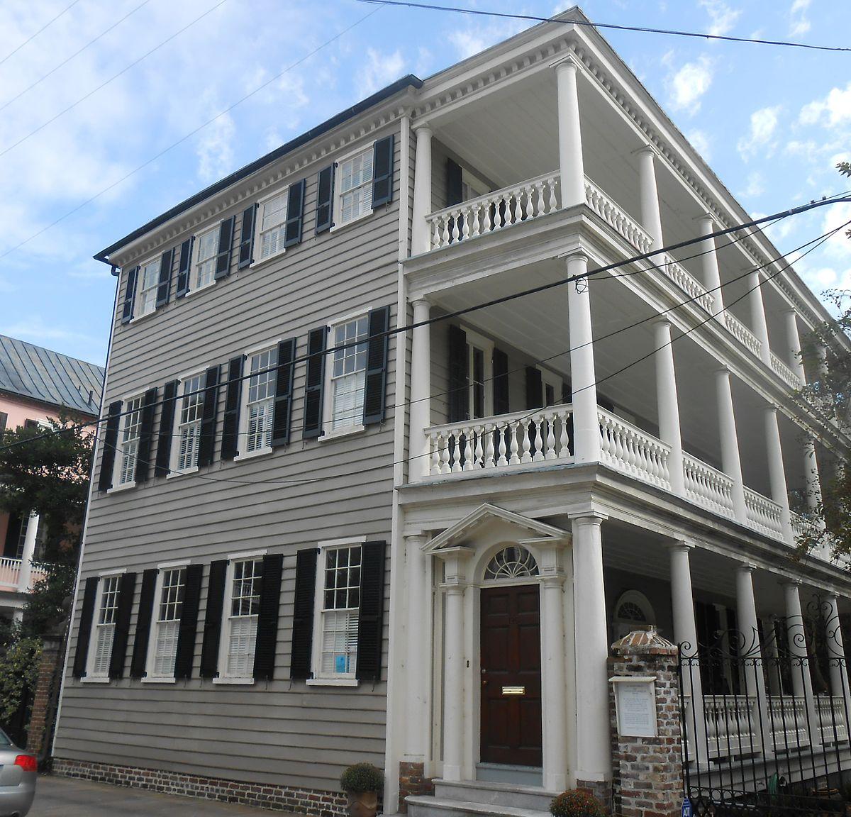 Charleston Sc Homes: Capt. John Morrison House